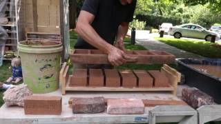 Making Bricks with Josh at Mobile Brick Factory in Baltimore