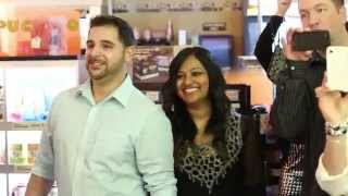 Mark and Sharmin's Proposal Flash Mob in CT