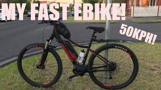 My New Ebike Is Fast! 50kph!