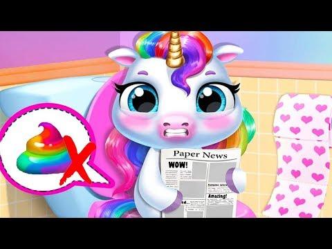 Fun New Born Pony Care My Baby Unicorn Kids Game Fun Cute Pet Care & Makeover Mini Games For Kid