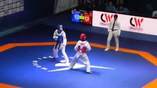 بطولة العالم للشباب تايكوندو تونس2018 championnat  du monde taekwondo tunisie