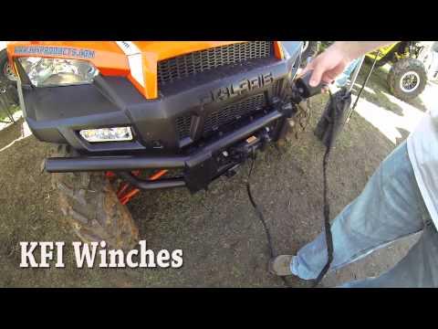 UTV KFI Stealth Winch Systems