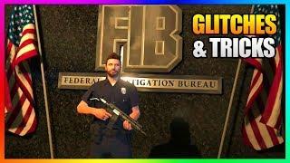 5 NEW Glitches in GTA Online! (FIB Wallbreach, Clothing Glitch, Launch Glitch, Hiding Spot More)