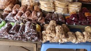 Asian Street Food, Food Compilation In Cambodia, Market Activities And Foods