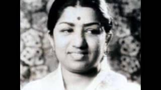 Nazar Kahe Aaja Lata Mangeshkar Film Begunah (1957) Music Shankar Jaikishan.