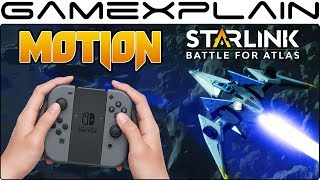 Starlink Does Have Motion Controls...Sort Of! - We Test Them Out! (Switch)
