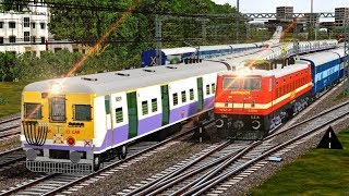 Hyderabad - Howrah EAST COAST Express || SRC to HWH Journey || Heavy Traffic || MSTS Railindia Route