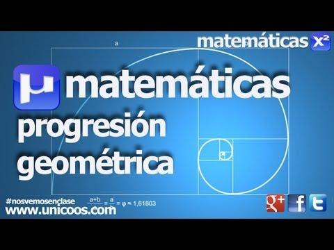 Progresion geometrica SECUNDARIA (3ºESO) sucesion