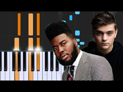 """Martin Garrix ft Khalid - """"Ocean"""" - Piano Tutorial - Chords - How To Play - Cover"""