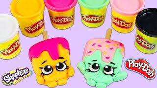 How to Make Super Cute Shopkins Play Doh Popsicles | Fun & Easy DIY Play Dough Art!