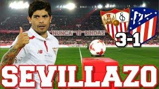 Sevilla 3-1 Atlético de Madrid | EL SEVILLA GOLEA Y ELIMINA AL ATLÉTICO DE MADRID DE LA COPA DEL REY
