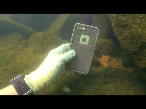 Found 3 GoPros, iPhone, Gun and Knives Underwater in River! - Best River Treasure Finds of 2016