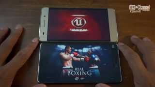 Xiaomi Mi4i vs Huawei Honor 4c Gaming (Real Boxing)