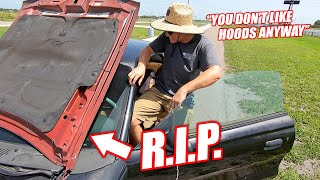 """Cooper """"Accidentally"""" DESTROYED My Flawless Mustang... (Luckily Caught on Camera)"""