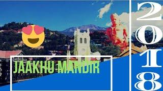 Shimla vlog #4 - Jaakhu Temple and Mall road me masti