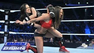 Nikki Bella vs. AJ Lee: SmackDown, Feb. 7, 2014