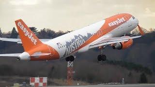 Planes at London Luton Airport, LTN | 06-03-18