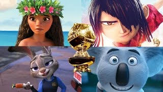 2017 Golden Globes Nominees Best Motion Picture - Animated