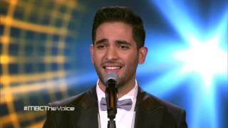 #MBCTheVoice - حمزة الفضلاوي - أي دمعة حزن - مرحلة العروض المباشرة