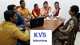 kvs interview in hindi : Teacher Interview practice