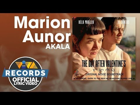 Xxx Mp4 Marion Aunor Akala The Day After Valentine S OST Official Lyric Video 3gp Sex