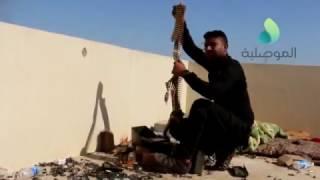 الموصلية ترافق الساعدي وقطعات مكافحة الارهاب خلال تطهير حي التنك بالجانب الايمن للموصل