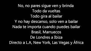 Jennifer Lopez Ft. Pitbull - Ven A Bailar (On The Floor Spanish Version) Lyrics