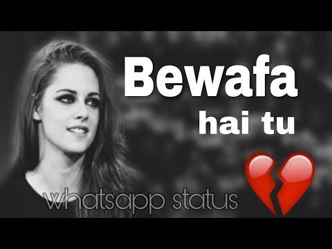 BEWAFA HAI TU - new love whatsapp status video by eye capture