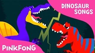 Spinosaurus VS Tyrannosaurus | Dinosaur Songs | Pinkfong Songs for Children