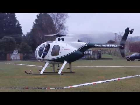 Helicopter Start up and Takeoff