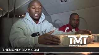 Floyd Mayweather counting $1 Million Dollars