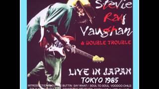 STEVIE RAY VAUGHAN..LIVE IN TOKYO JAPAN 1985