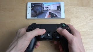 Counter-Strike Global Offensive Sony Xperia Z5 PS4 Controller NVIDIA GameStream Test!