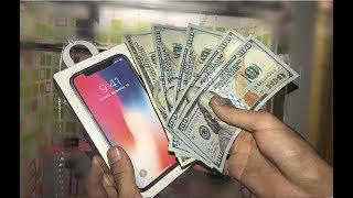 WON iPhone X + $500 CASH from ARCADE GAME! | JOYSTICK