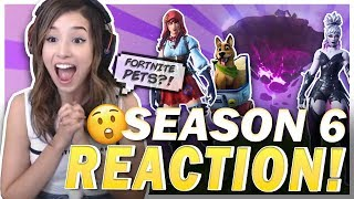 WTF HAPPENED?! POKI REACTS TO SEASON 6 OF FORTNITE!