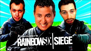 ON TRY HARD FORT ! (ft. Nameless Mickalow) ► RAINBOW SIX SIEGE