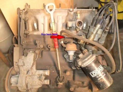 Como saber se seu motor AP é 1.6 1.8 2.0