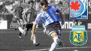 Sergio Agüero • Mundial Sub 20 • 2007