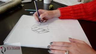 Nia Tasarım Stilistlik Elde Çizim Videosu