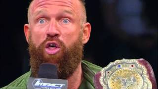"""Eric Young   """"I'm Leaving... and Taking the Title With Me"""""""