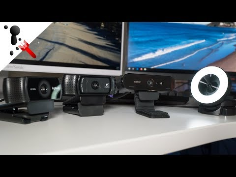 Xxx Mp4 Webcam Comparison Razer Kiyo Logitech Brio C920 And C922 3gp Sex
