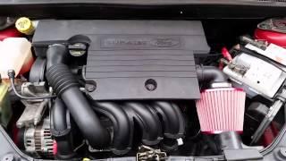 Ford Fiesta Zetec MK6 Upgraded Air Filter