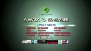 Official Trailer  A WALK TO REMEMBER Short feature film