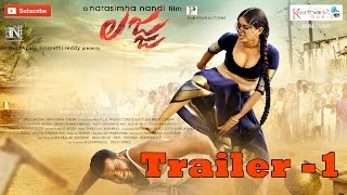 Latest Telugu Movie Lajja Theatrical trailer Latest 01 || Madhumitha, Narasimha Nandi