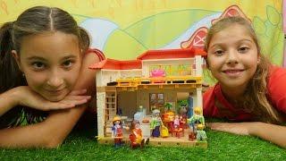 Oyuncak ev düzeltme oyunu. Polen ve Jasmin #oyuncakbebek ailesine yardım ediyorlar. Kız oyunları