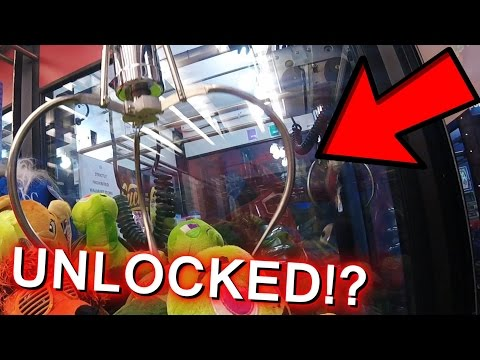 how to hack a claw machine at walmart