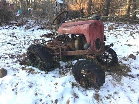 1967 Wheel Horse 857 Garden Tractor Build Up Date and The Senior 1955 SR VinsRJ