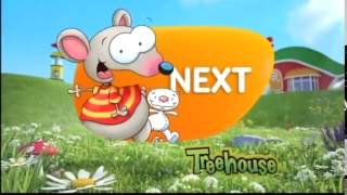 """Treehouse TV """"Coming Up"""" bumper - Toopy and Binoo (2013)"""