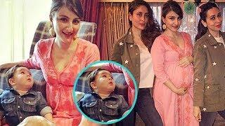 PREGNANT Soha Ali Khan Baby Shower | Taimur Ali Khan Joins The Celebration