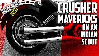 Kuryakyn Crusher Mavericks on an Indian Scout | SOUND TEST